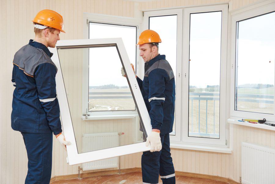 اجرای پنجره دو جداره upvc با گروه پنسر وین